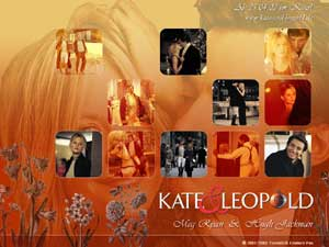 Kate and Leopard Wallpaper